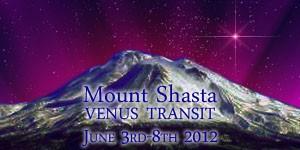 Mount Shasta Venus Transit